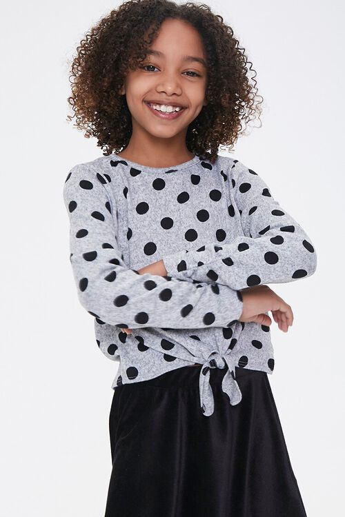 Girls Polka Dot Top (Kids), image 1
