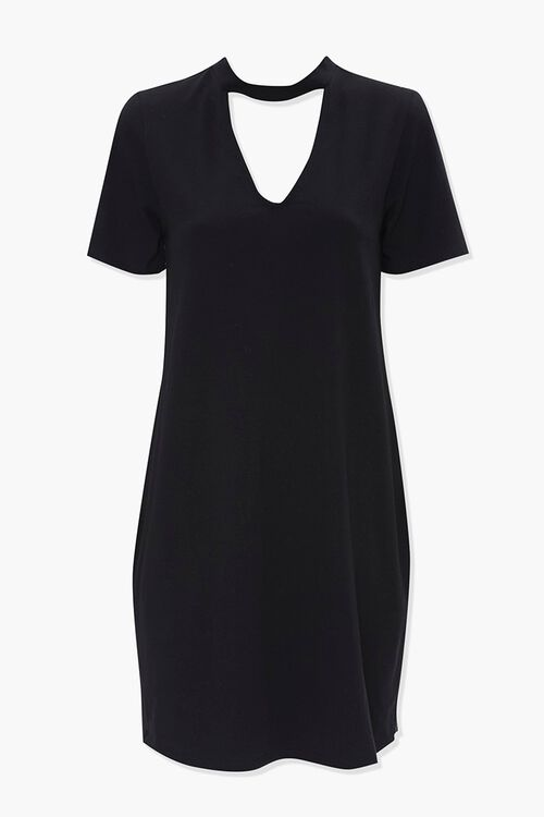Shoulder Pad Shirt Dress, image 1