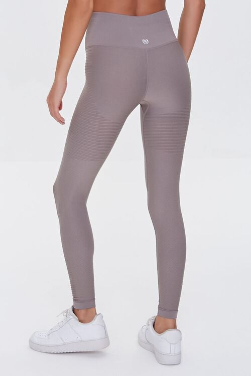 TAUPE Active Seamless Leggings, image 4