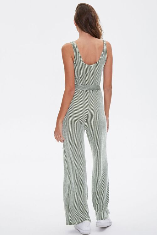 Ribbed Pinstriped Jumpsuit, image 4