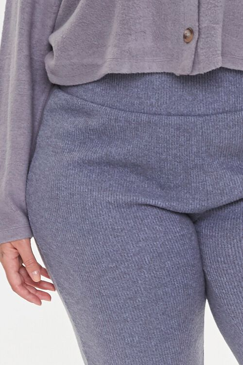Plus Size Ribbed Knit Joggers, image 5