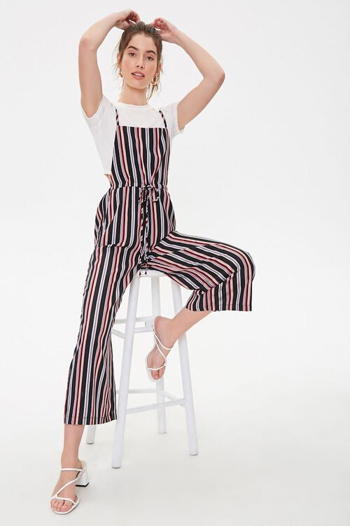 Striped Cami Jumpsuit, image 1