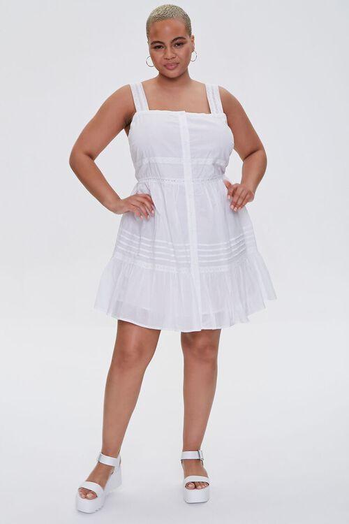 Plus Size Fit & Flare Mini Dress, image 4