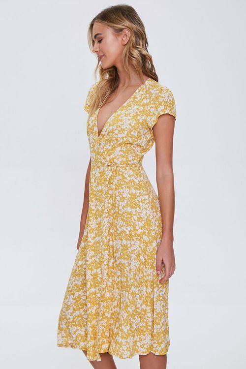 Floral Print Midi Dress, image 2