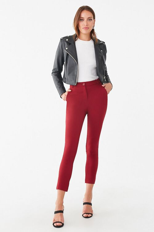 High-Rise Ankle Pants, image 4
