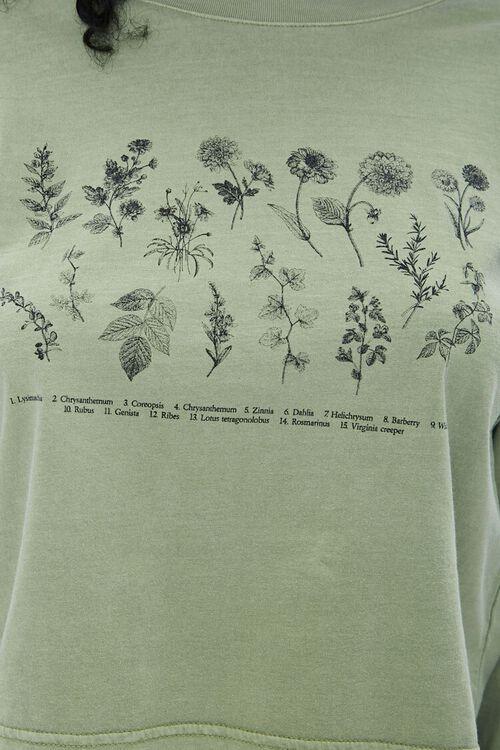 Botanical Graphic Long-Sleeve Tee, image 5