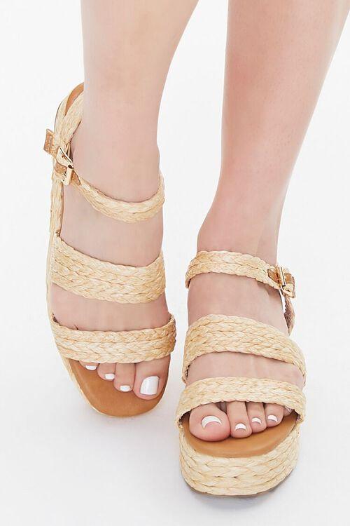 Basketwoven Espadrille Sandals, image 4