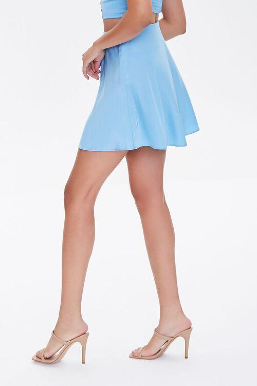 BLUE Skater Mini Skirt, image 3