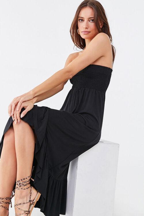 Ruffle-Trim High-Low Dress, image 1