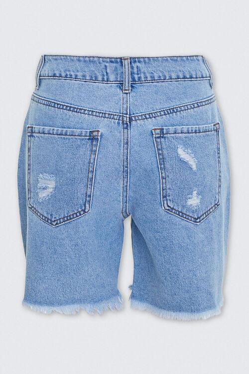 Distressed Denim Mom Shorts, image 3