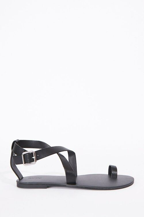 Crisscross Toe Loop Sandals, image 1