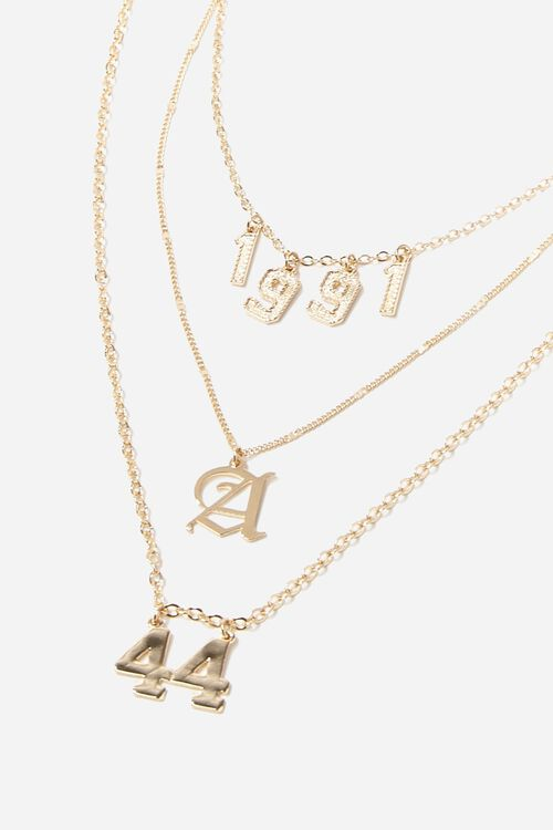 Layered Charm Necklace, image 3