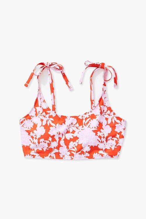 Plus Size Floral Print Bikini Top, image 4