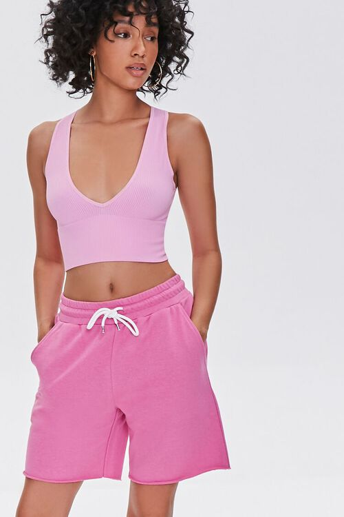 Basic French Terry Sweatshorts, image 1
