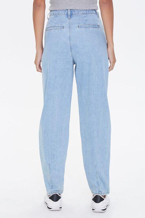 Pleated Straight-Leg Jeans, image 4