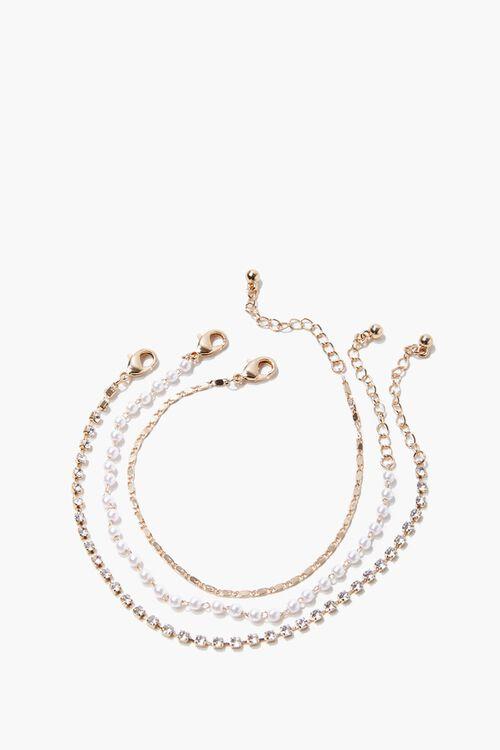 Faux Pearl Bracelet Set, image 2