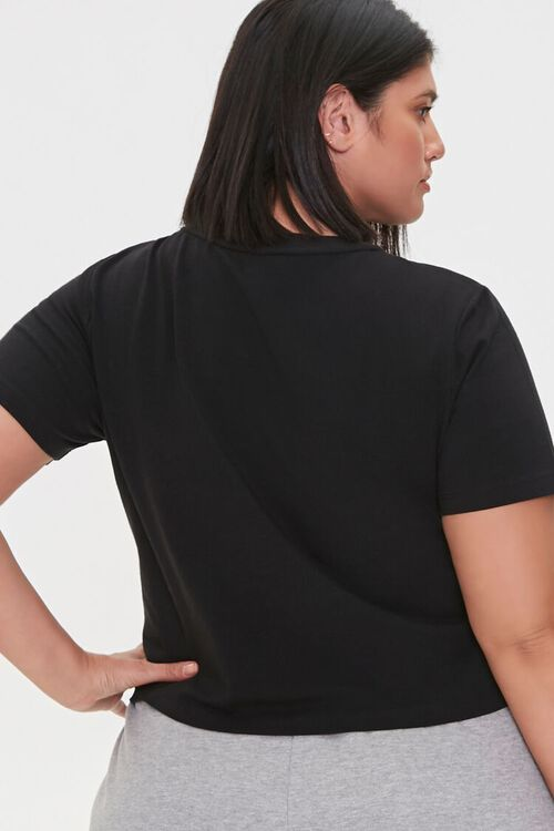 Plus Size Adore Me Graphic Tee, image 3