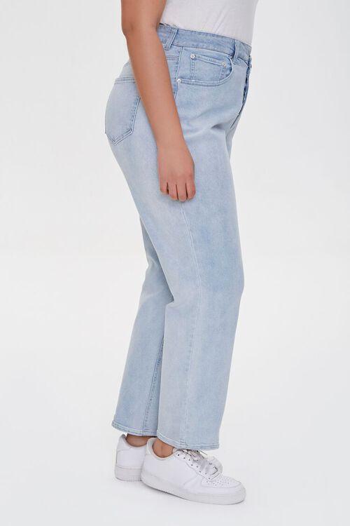 Plus Size Straight-Leg Jeans, image 3