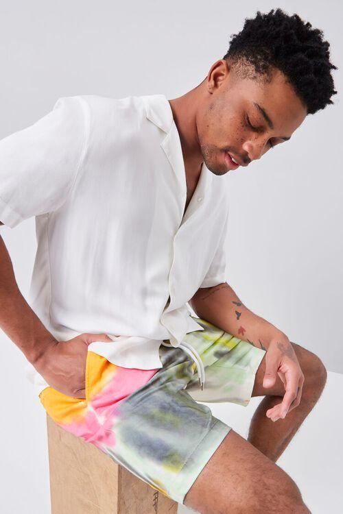 Tie-Dye Drawstring Shorts, image 1