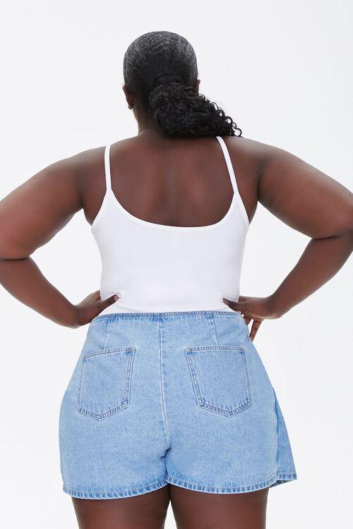 Plus Size Basic Organically Grown Cotton Bodysuit, image 3