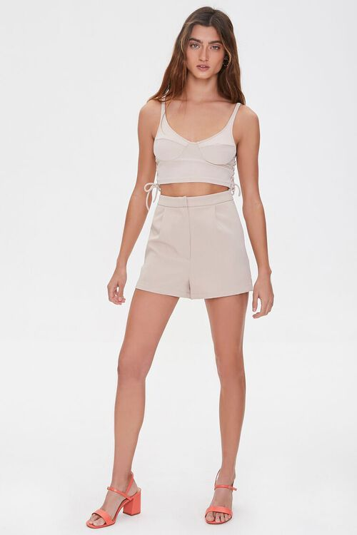 Lace-Up Cropped Cami, image 4