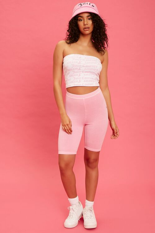 PINK/BLACK Juicy Couture Biker Shorts, image 5
