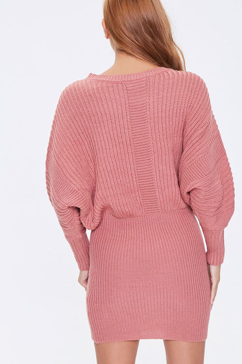 ROSE Faux Pearl Sweater Dress, image 3