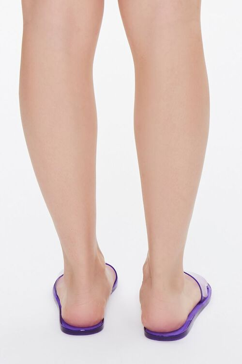 Semi-Transparent Jelly Sandals, image 3