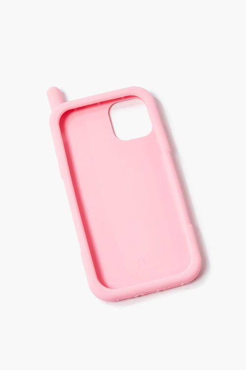 PINK/MULTI Retro Cell Phone Case for iPhone 12, image 2