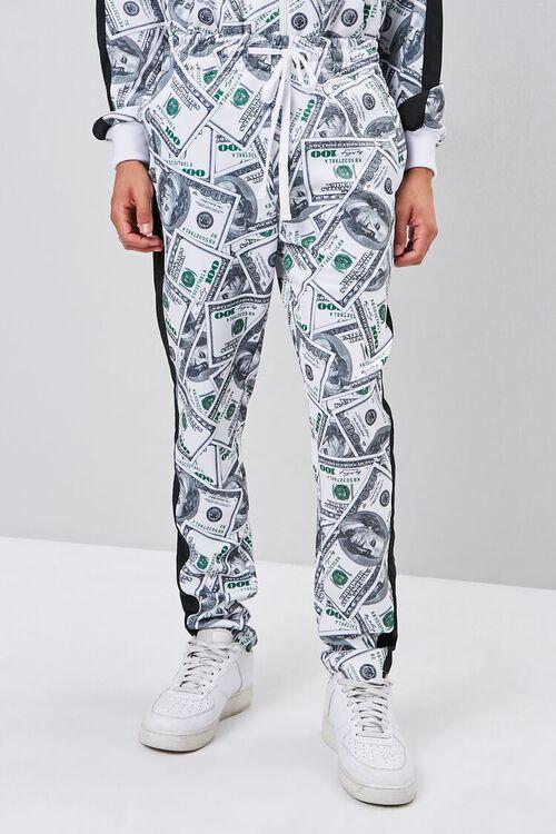 Hundred Dollar Print Drawstring Pants, image 2