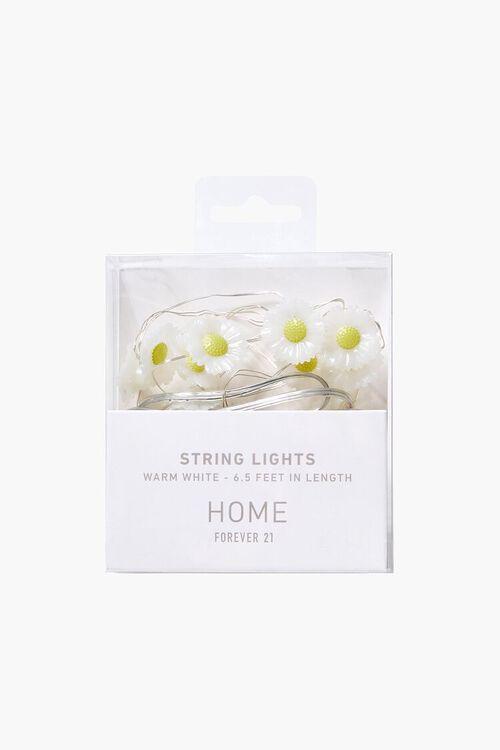 WHITE/MULTI Daisy Charm String Lights, image 1