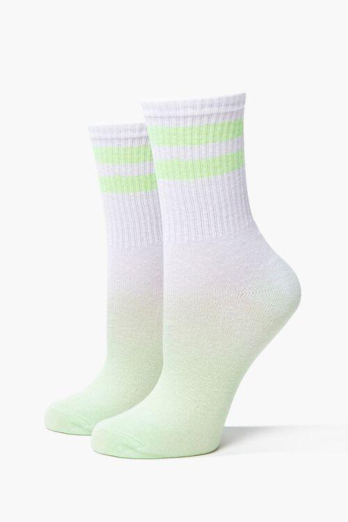 Varsity Striped Crew Socks, image 1