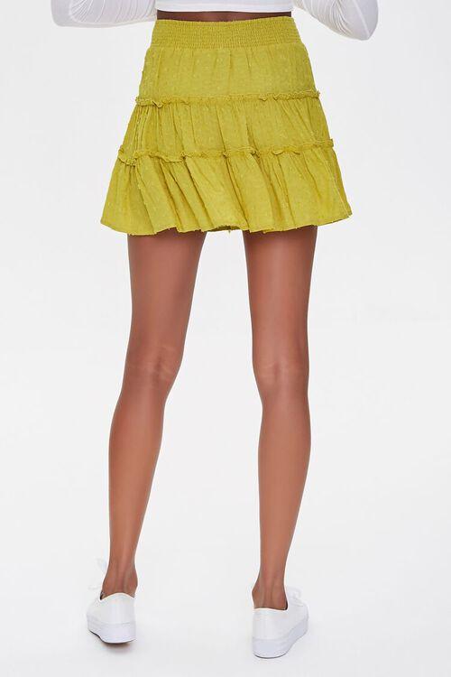 Tiered Clip Dot Mini Skirt, image 4