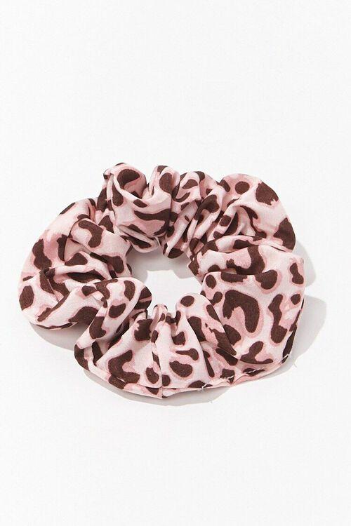 Leopard Print Scrunchie, image 1