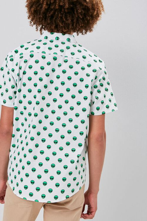 Alien Print Pocket Shirt, image 3