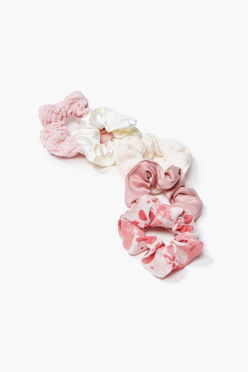 PINK/MULTI Assorted Scrunchie Set, image 1