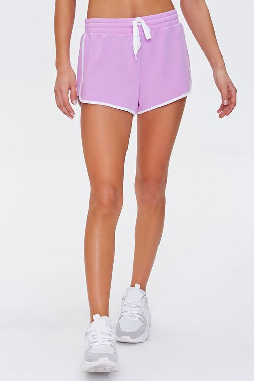 Active Contrast-Trim Dolphin Shorts, image 2