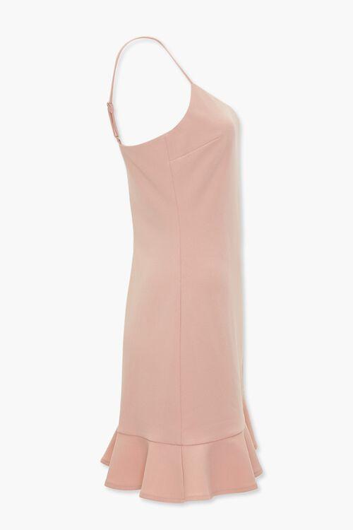 Ruffle Tulip-Hem Mini Dress, image 2