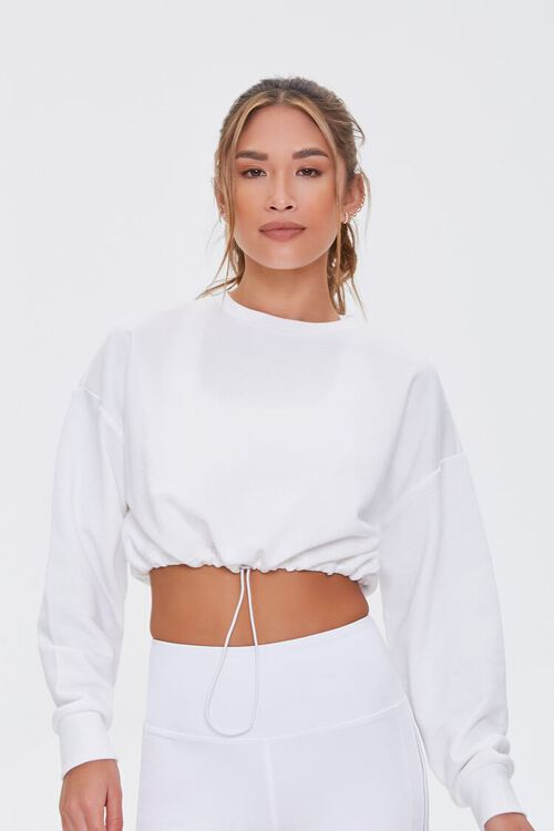 Active Drawstring Pullover, image 1