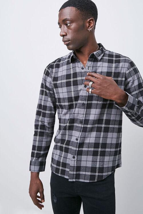 Classic Fit Plaid Flannel Shirt, image 5