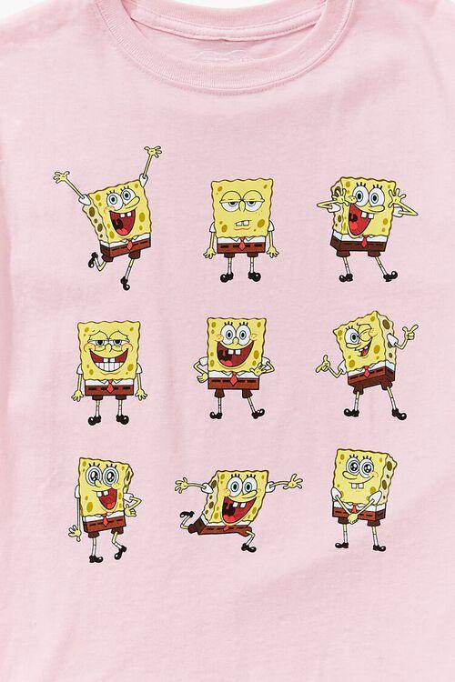 Girls SpongeBob SquarePants Graphic Tee (Kids), image 3