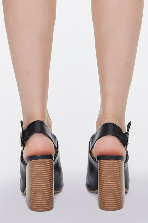Stacked Wooden Block Heels, image 3