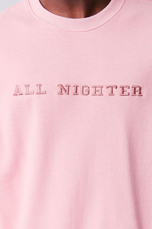All Nighter Embroidered Graphic Pullover, image 5