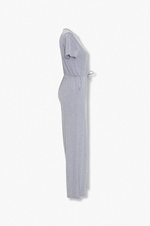 Heathered Wide Leg Jumpsuit, image 2
