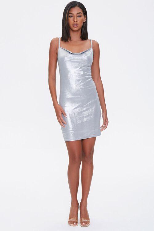 Cowl Neck Mini Dress, image 4