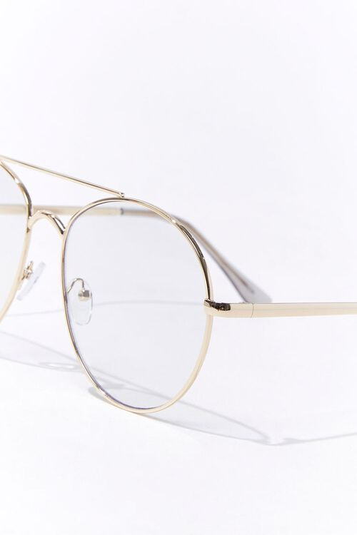 Round Metal Reader Glasses, image 3