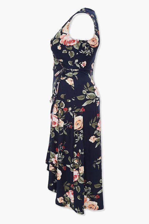 Plus Size Floral Tulip-Hem Dress, image 2
