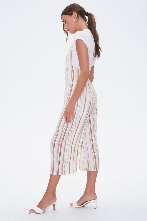 Striped Culotte Jumpsuit, image 2