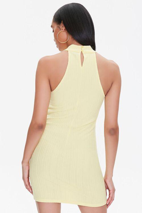 Ribbed Bodycon Mini Dress, image 3