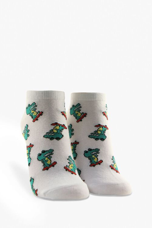 Alligator Ankle Socks, image 1